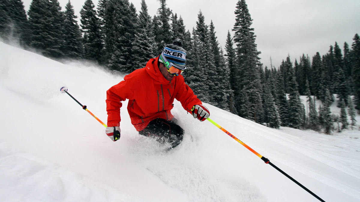 Powder Day- Skiing at Purgatory Resort