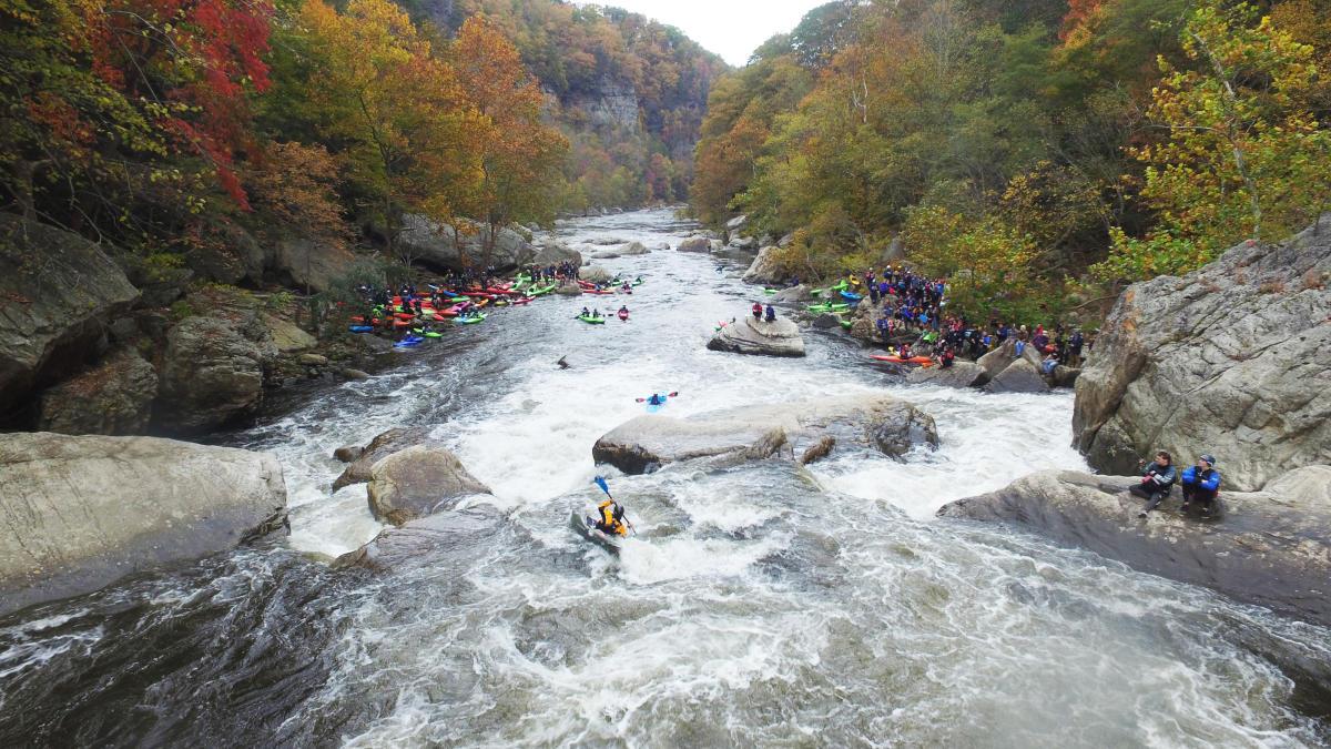 Kayaking the Breaks