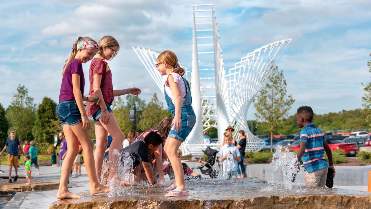 Kids' Canal at Promenade Park