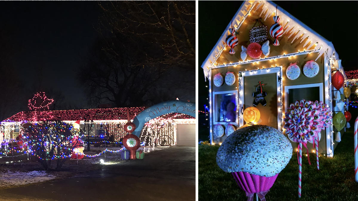 Pelham Drive House Light Display by Matt & Jody Ellenwood