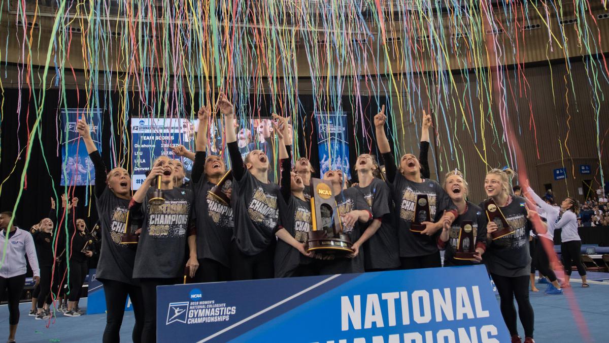 Copy of NCAA Womens gymnastics