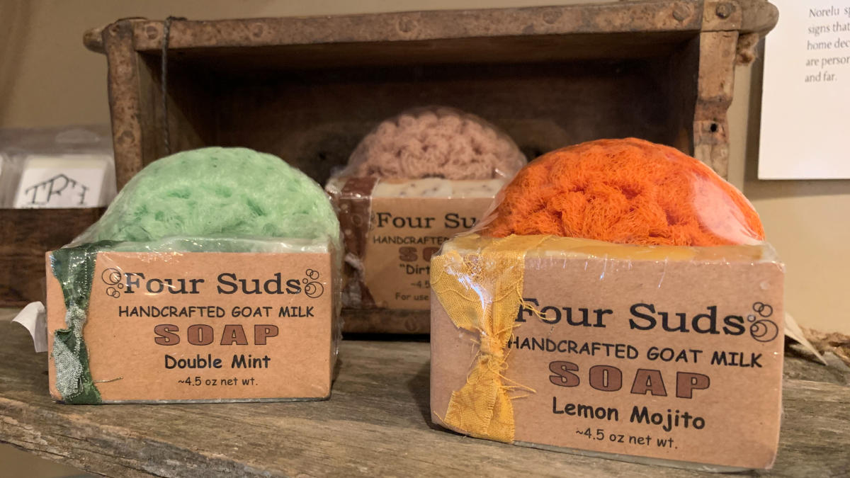 Four Suds Goat Soap