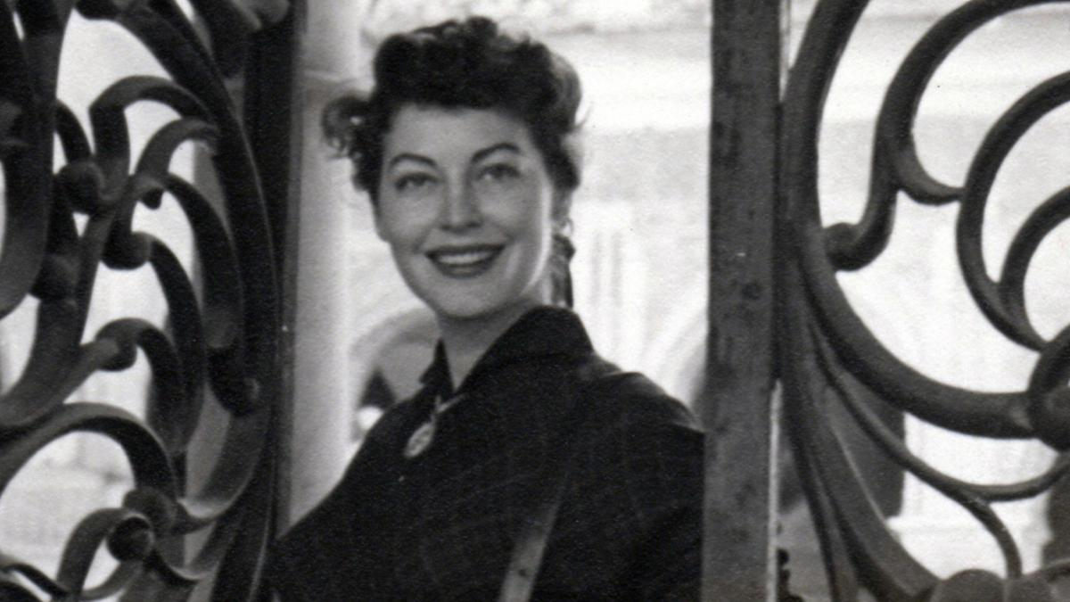 Ava Gardner poses in Spain while filming Pandora and the Flying Dutchman.