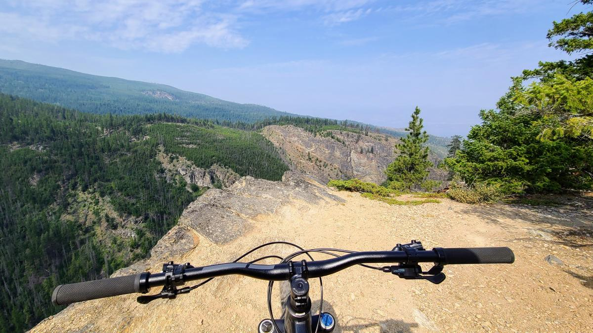 Mountain Biking on Crawford Canyon Trail