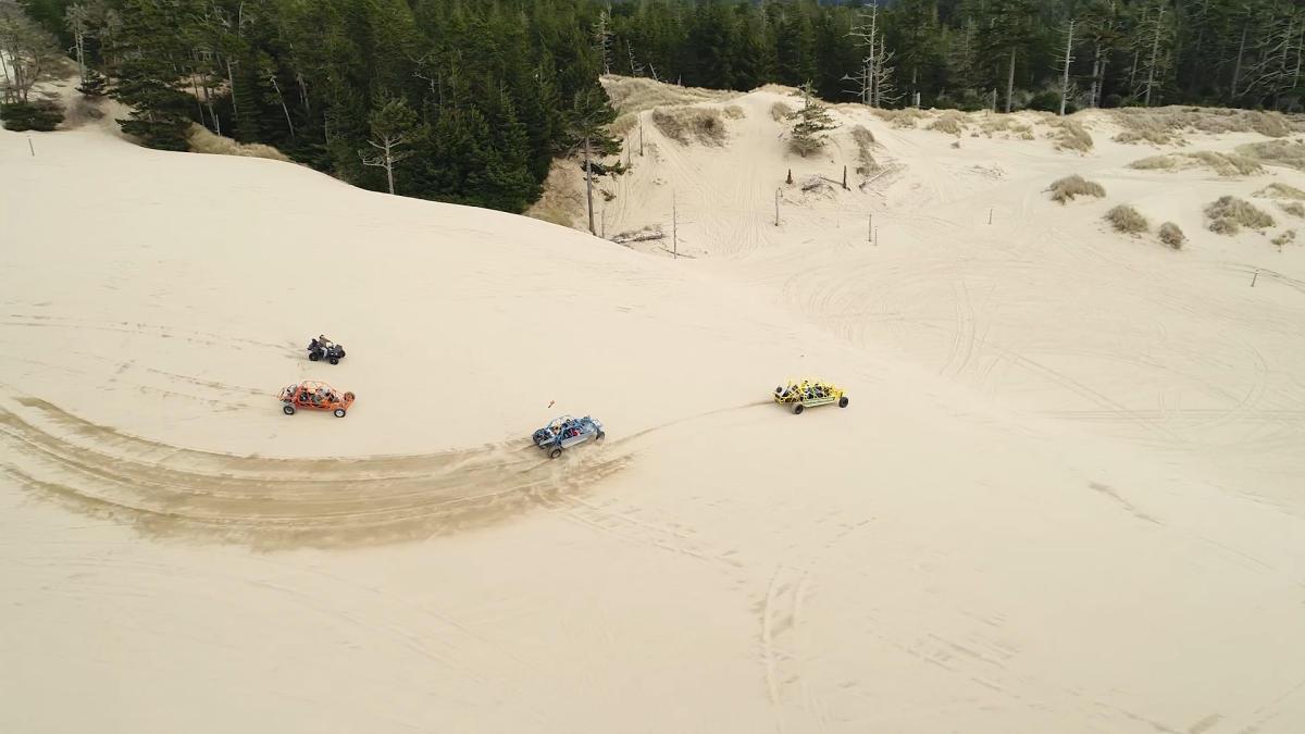 Dune Buggies Sand Dune Frontier by Eugene, Cascades & Coast