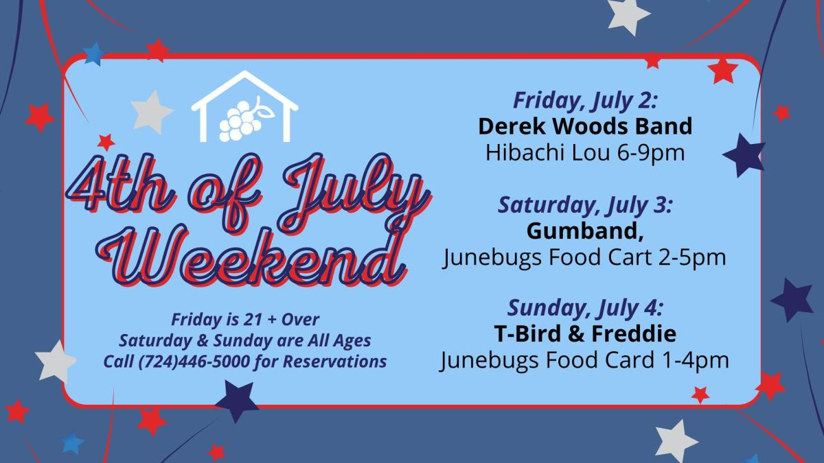 4th of July Greenhouse