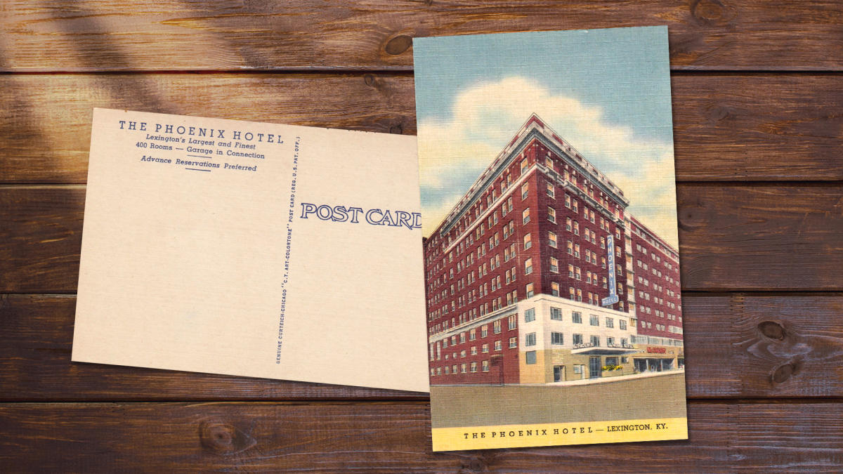 Vintage postcard for The Phoenix Hotel.
