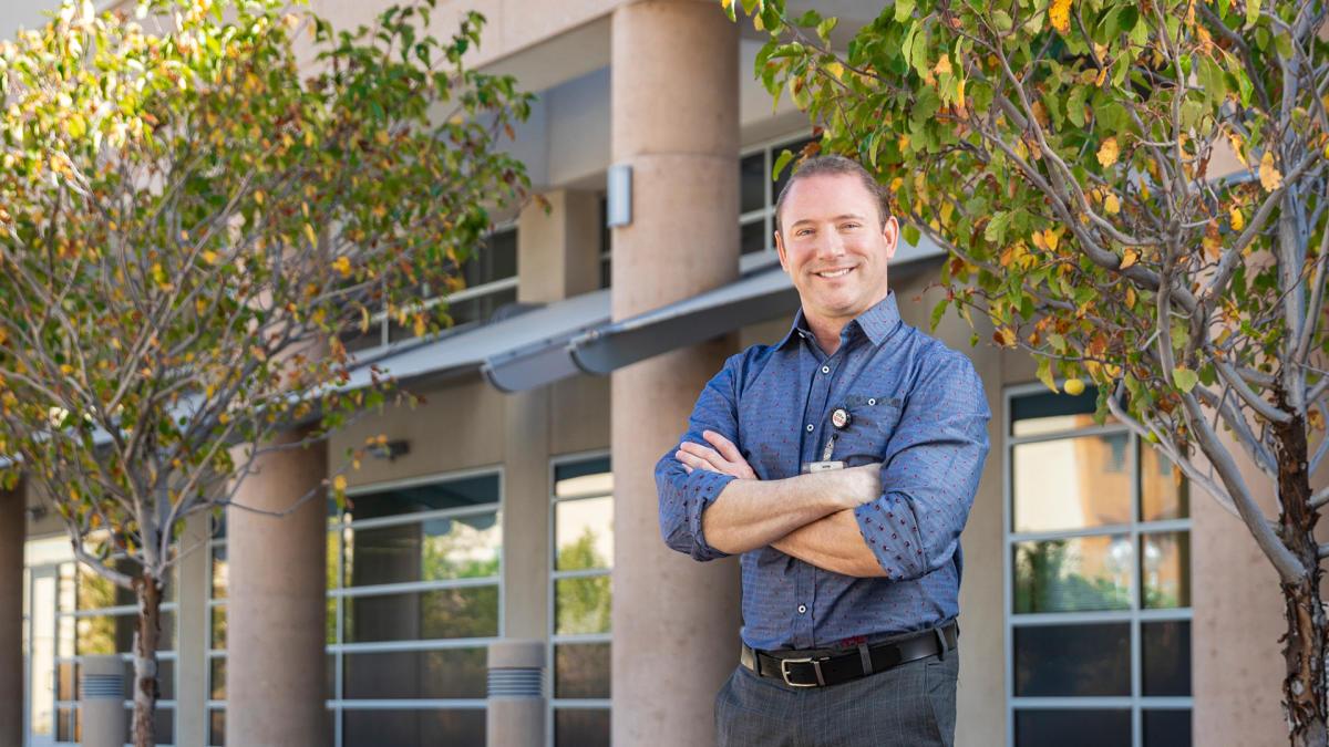 True Heroes: Adam Crosby, New Mexico Magazine