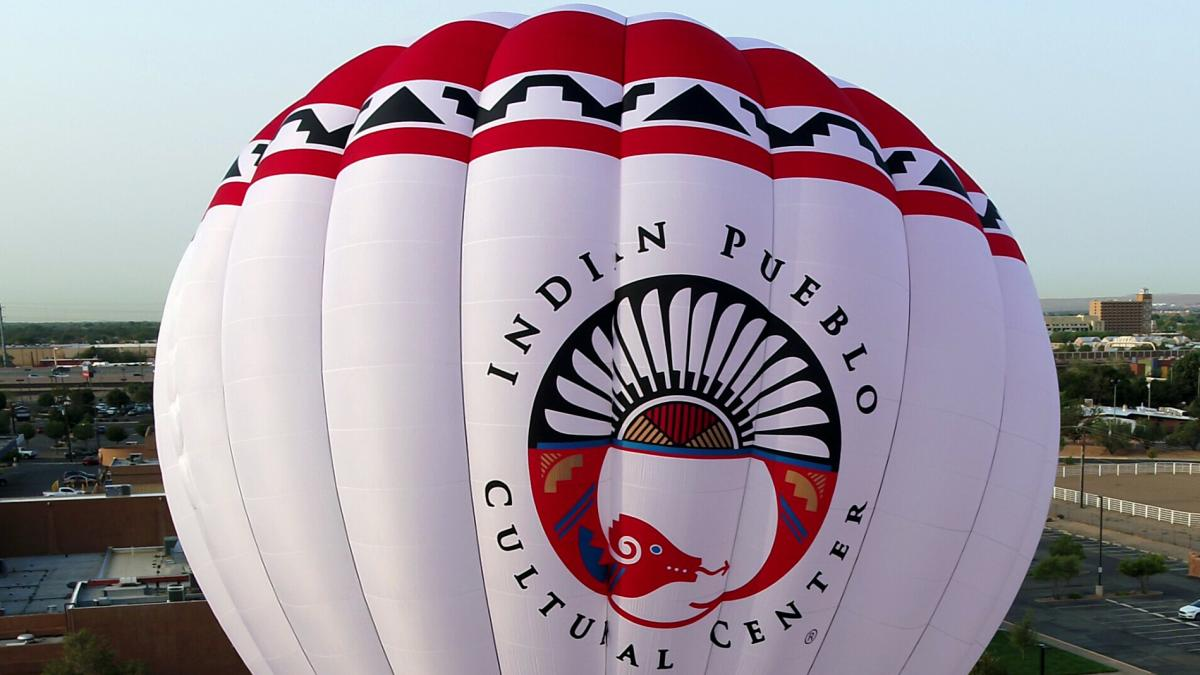 Indian Cultural Center Hot Air Balloon Detail
