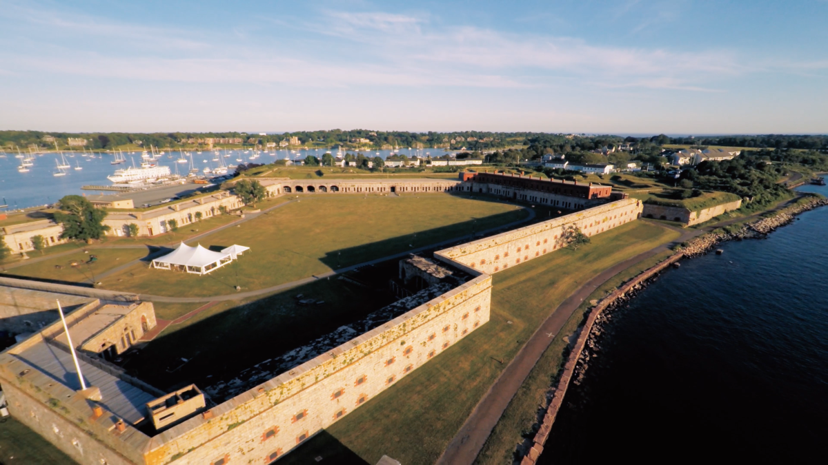 Fort Adams Drone