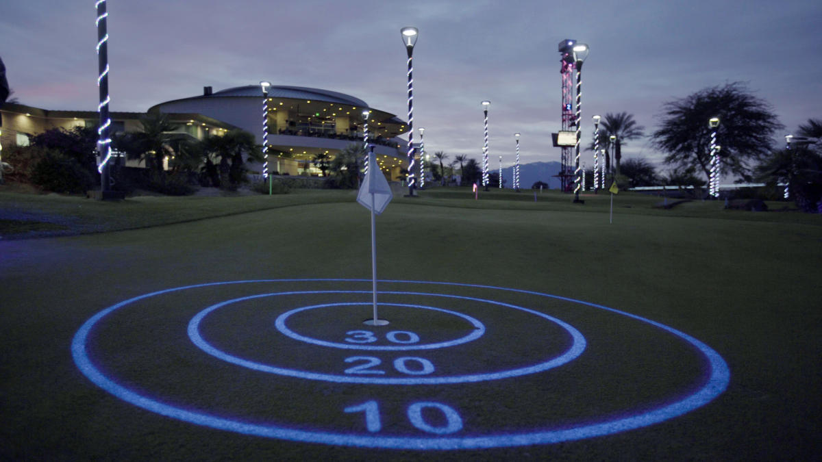 Shots in the Night at Indian Wells Golf Resort