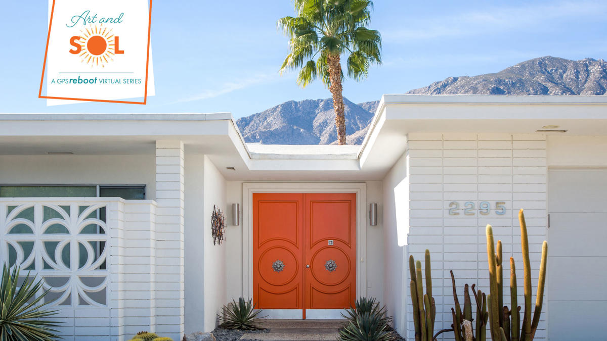 Modernism  home in Palm Springs