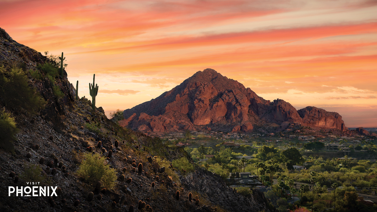 Camelback Mountain at Sunset