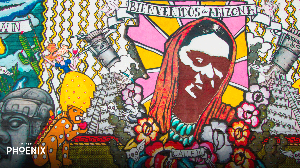 A mural in Phoenix
