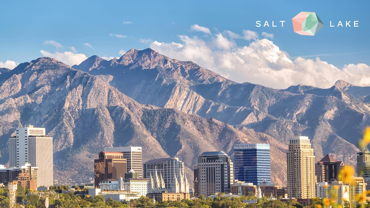 Visit Salt Lake Scenic Backdrop for Zoom