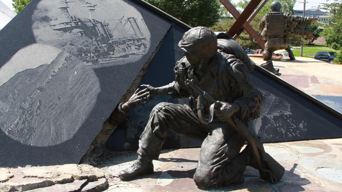 Community Veterans Memorial in Munster