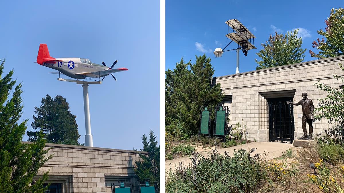 Decay Devils Preservation Ride Through Miller Beach - Aquatorium plane & glider