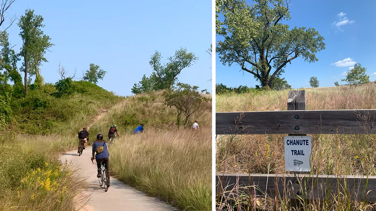 Decay Devils Preservation Ride Through Miller Beach - Chanute Trail