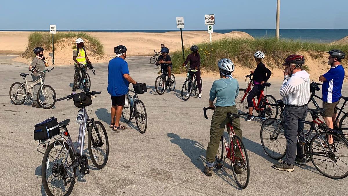 Decay Devils Preservation Ride Through Miller Beach - Lake St. Beach