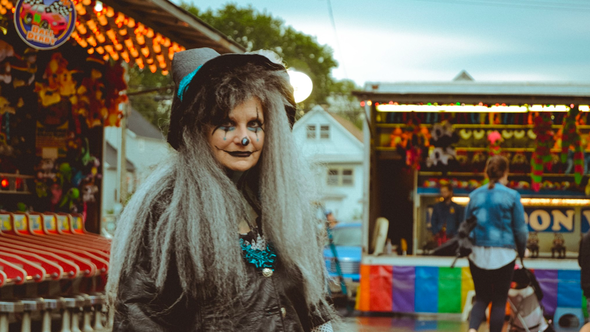 A Witch At The Whiting festival