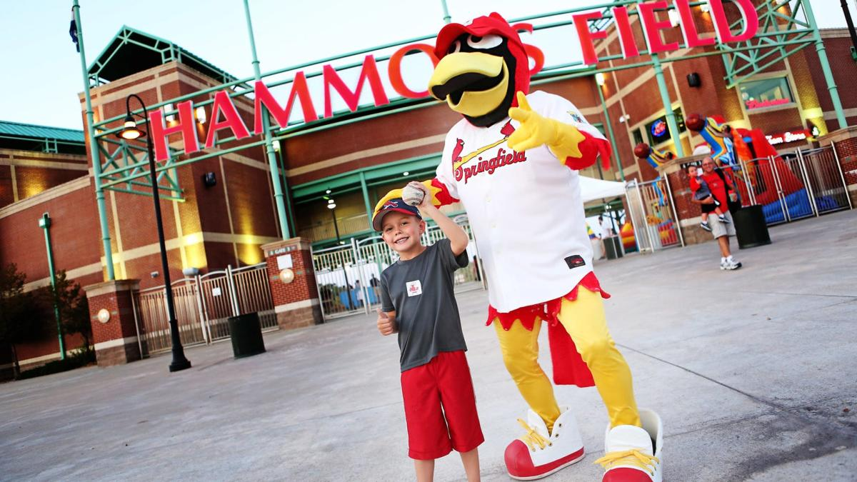 Cardinal's Baseball Louie & Boy Hammons Field