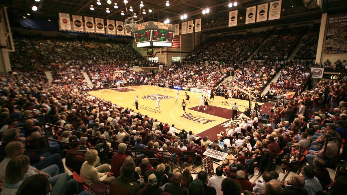Missouri State University Basketball Hammons Student Center