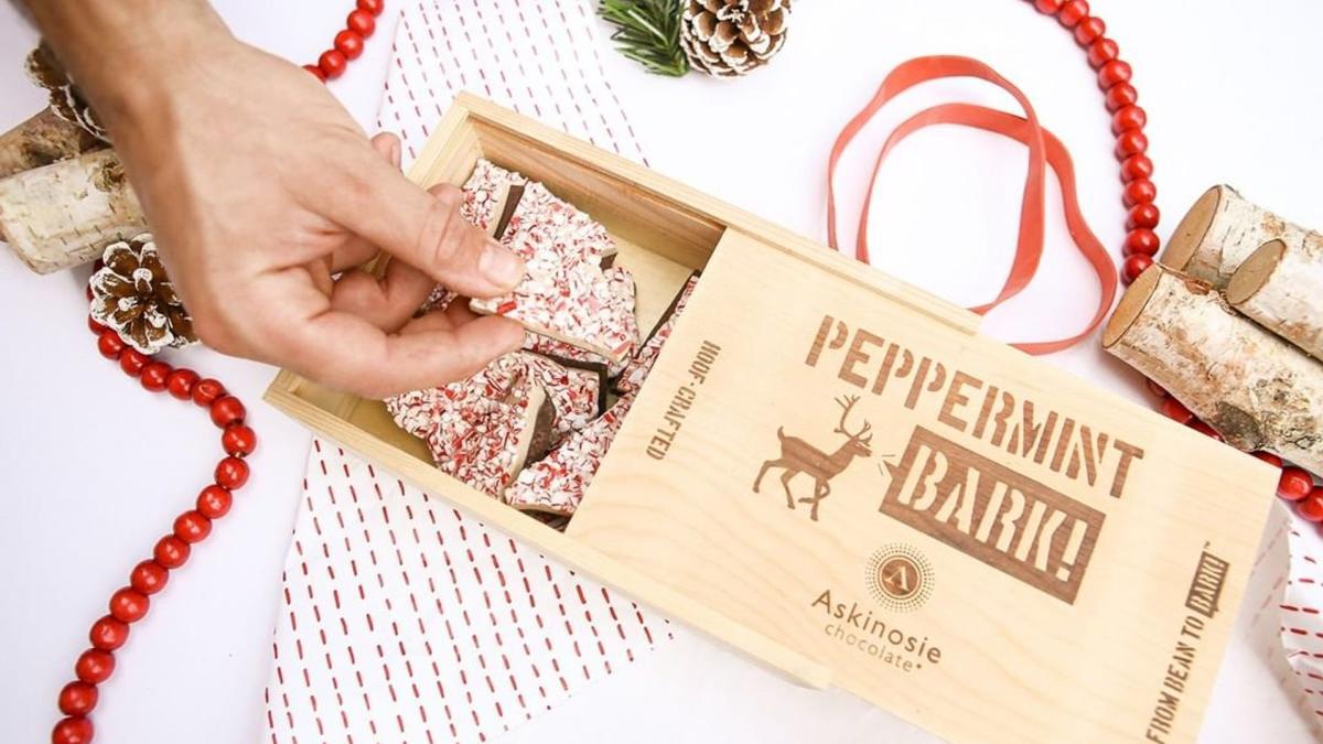 Askinosie Chocolate Peppermint Bark, photo courtesy of Askinosie