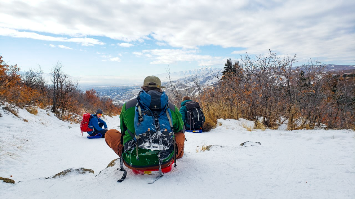 adventure sledding