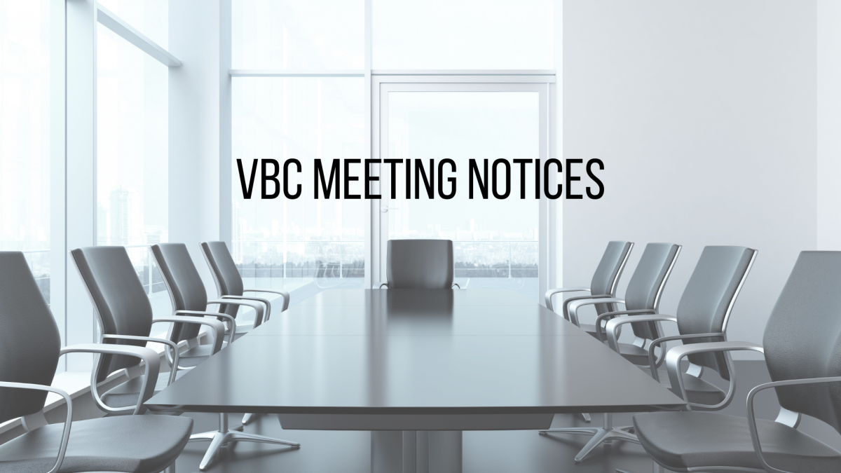 VBC Meeting Notices