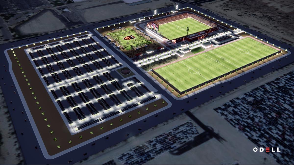 Phoenix Rising FC - Stadium Aerial 2