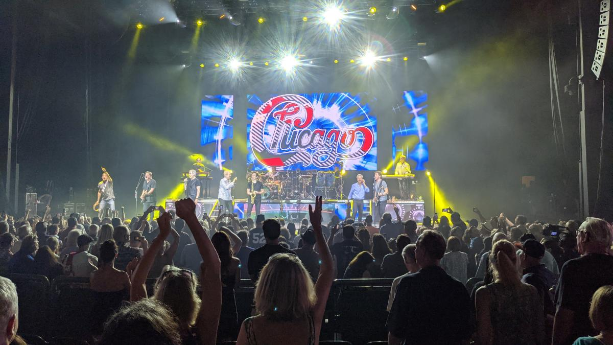 Chicago lights up The Pavilion's Main Stage, June 27, 2021