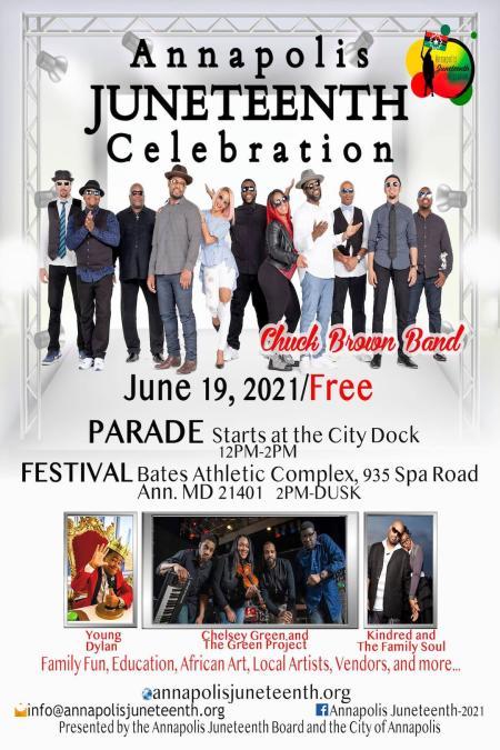 Juneteenth Festival Poster 2021