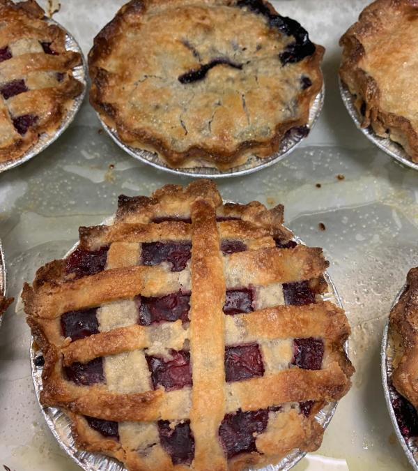 Gluten free berry pies from Mama Cls