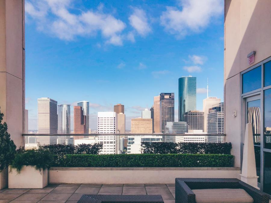 Hilton-America's Rooftop Terrace