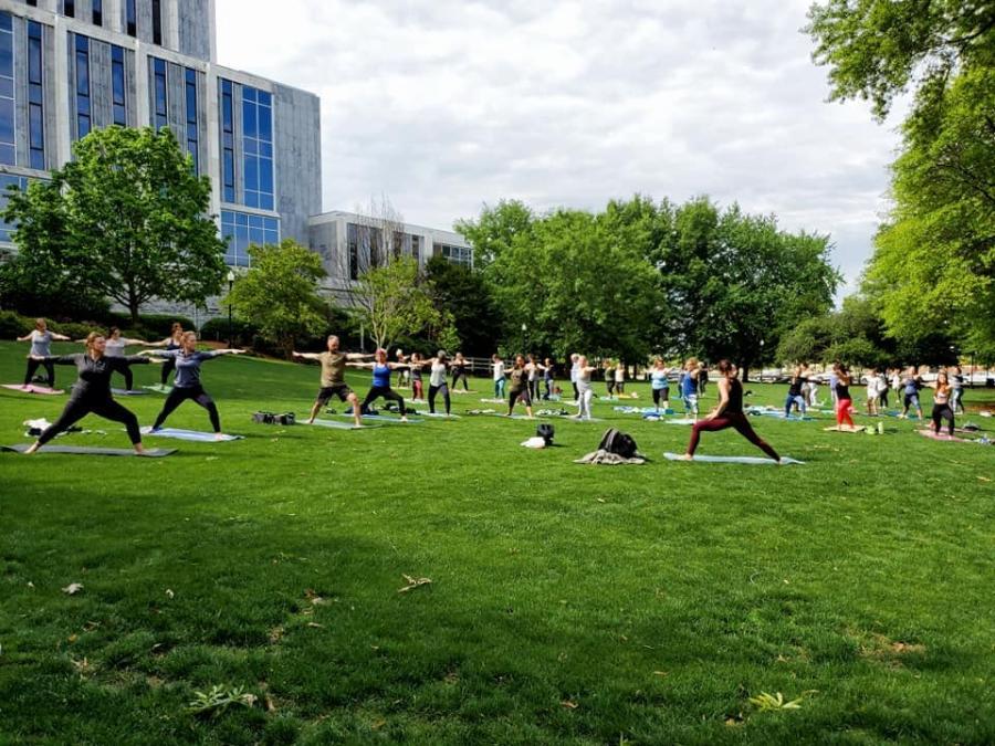 Healthy Huntsville Yoga