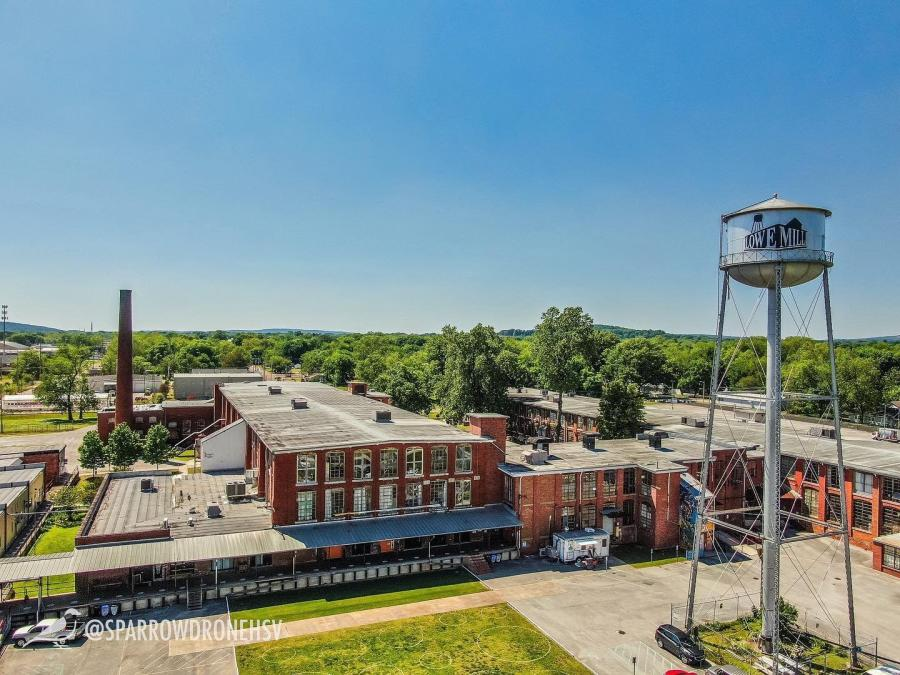 Lowe Mill Drone View
