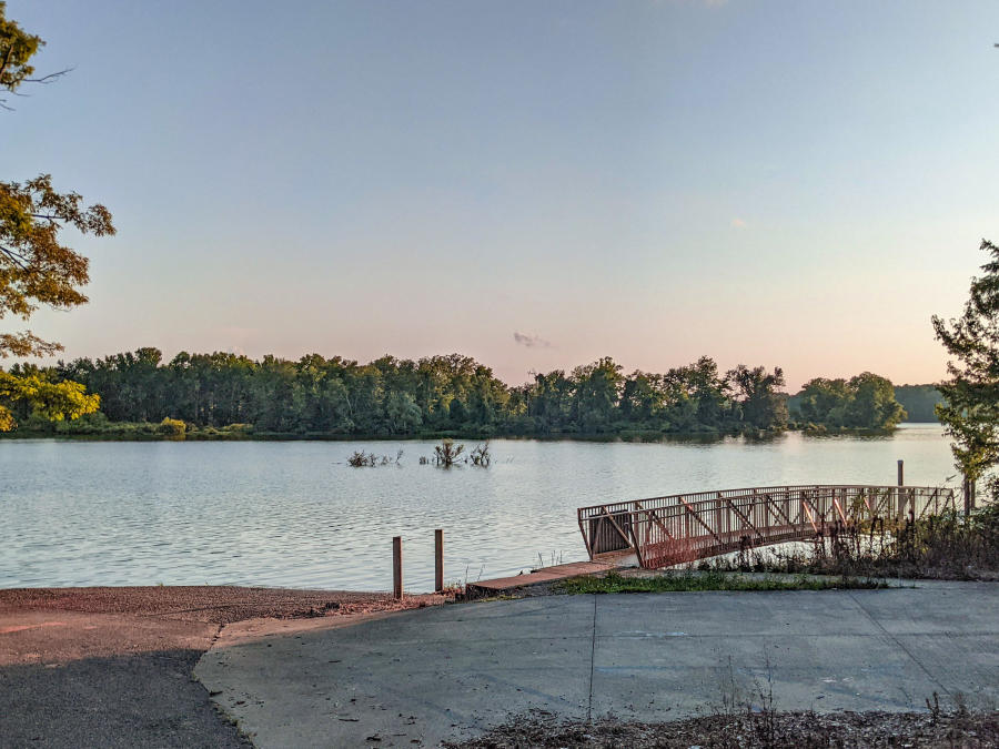 Hickory Hills Boat Ramp by Jenn Coleman of Coleman Concierge