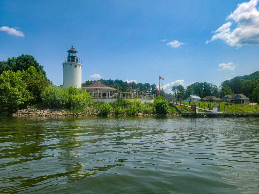 Hobbs Island Channel with Light House Paddle Boarding by Jenn Coleman of Coleman Concierge