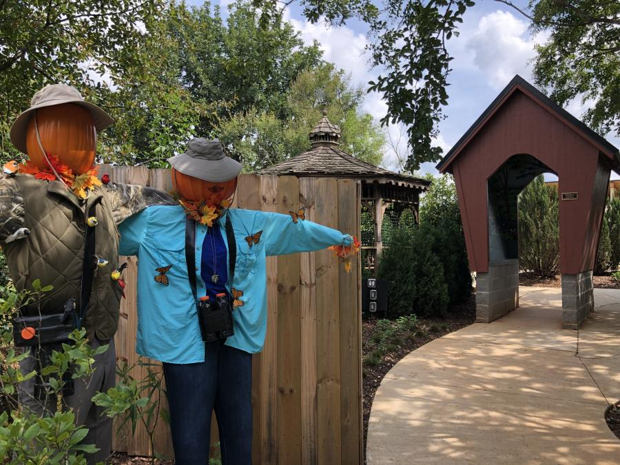 Huntsville Botanical Garden Scarecrow