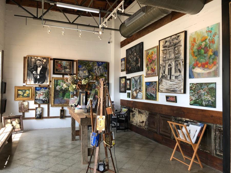 Carole Foret HC Blake Art Center