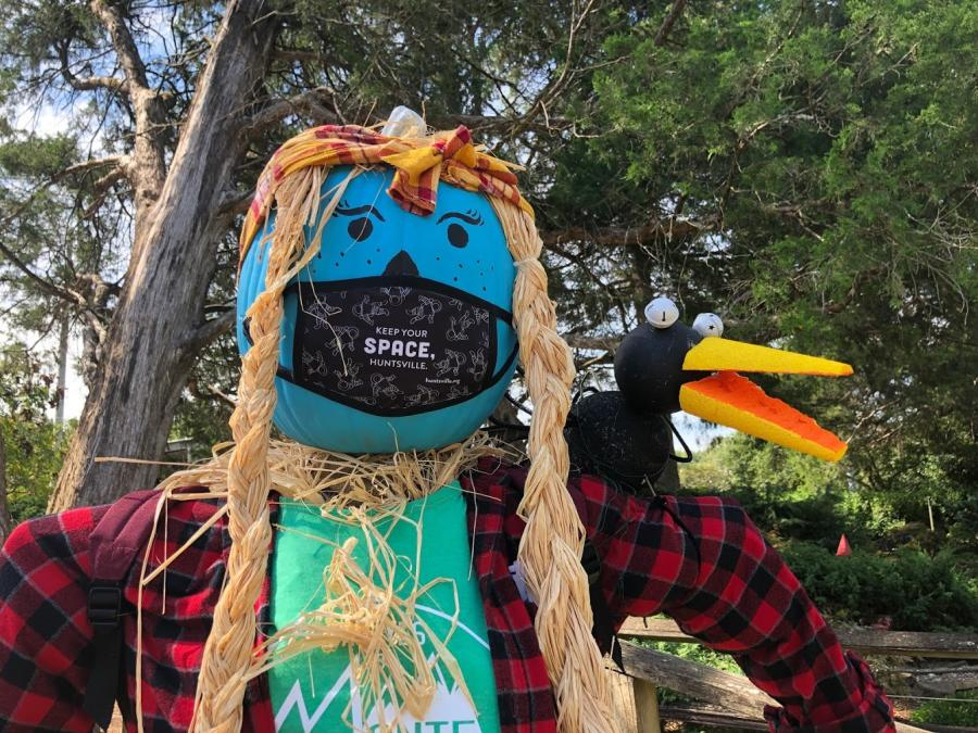 Huntsville Botanical Scarecrow