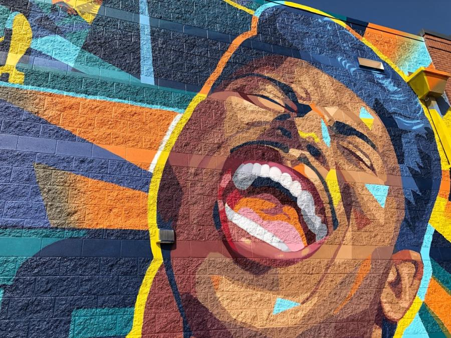 Little Richard Mural Logan Tanner MidCity