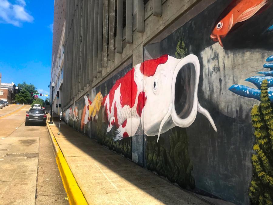 Koi Mural Huntsville