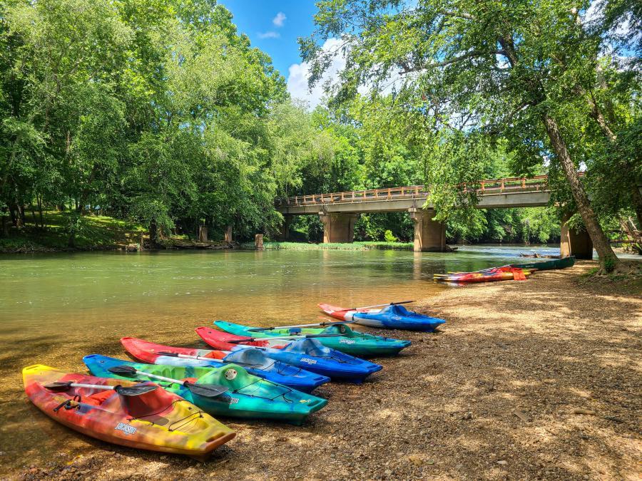 NACK on the Flint River by Jenn Coleman of Coleman Concierge Kayak