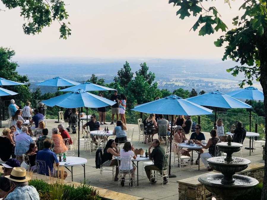 Burritt at the Mountain Cocktails at The View