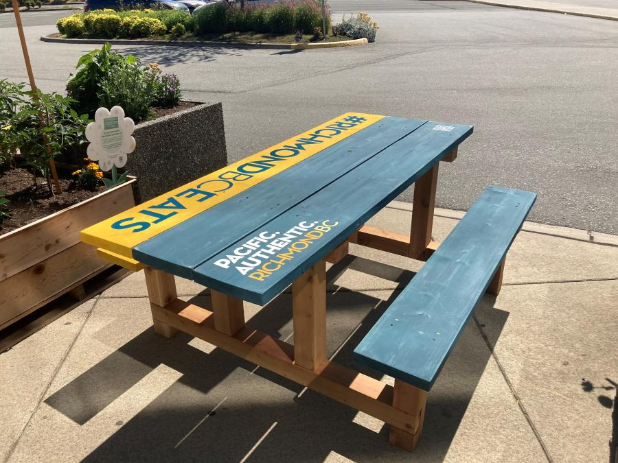 Branded Pop-Up Picnic Areas