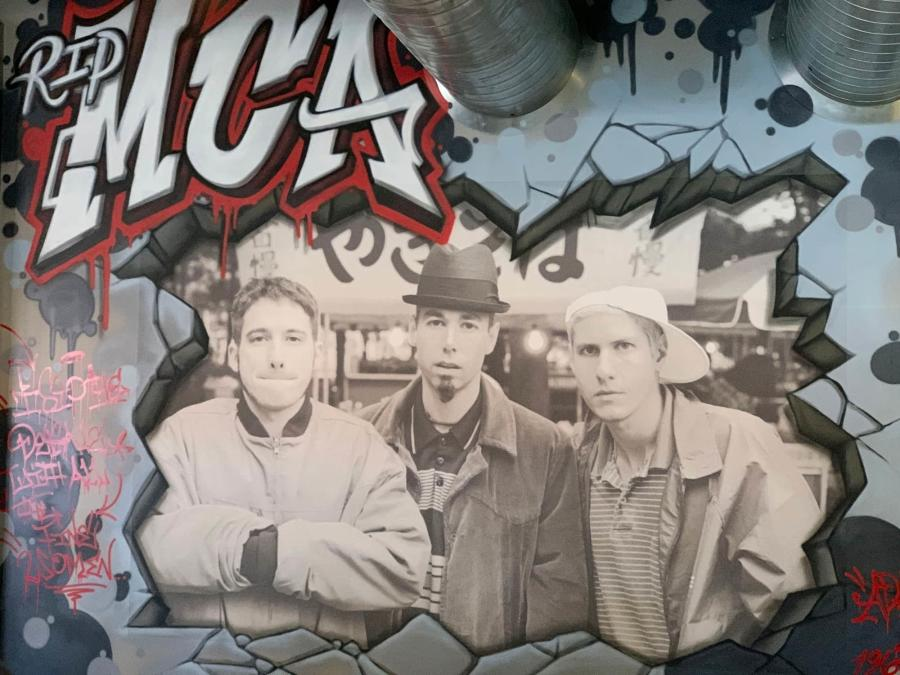 Beastie Boys Mural at Nortons Brewing Company