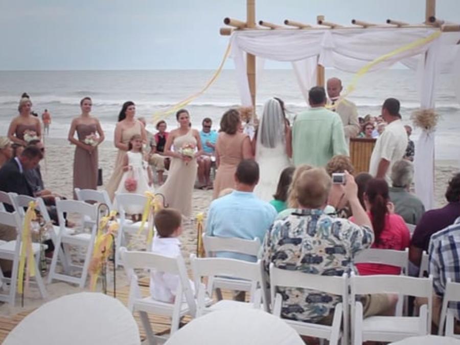 Carolina Beach Weddings 4x3