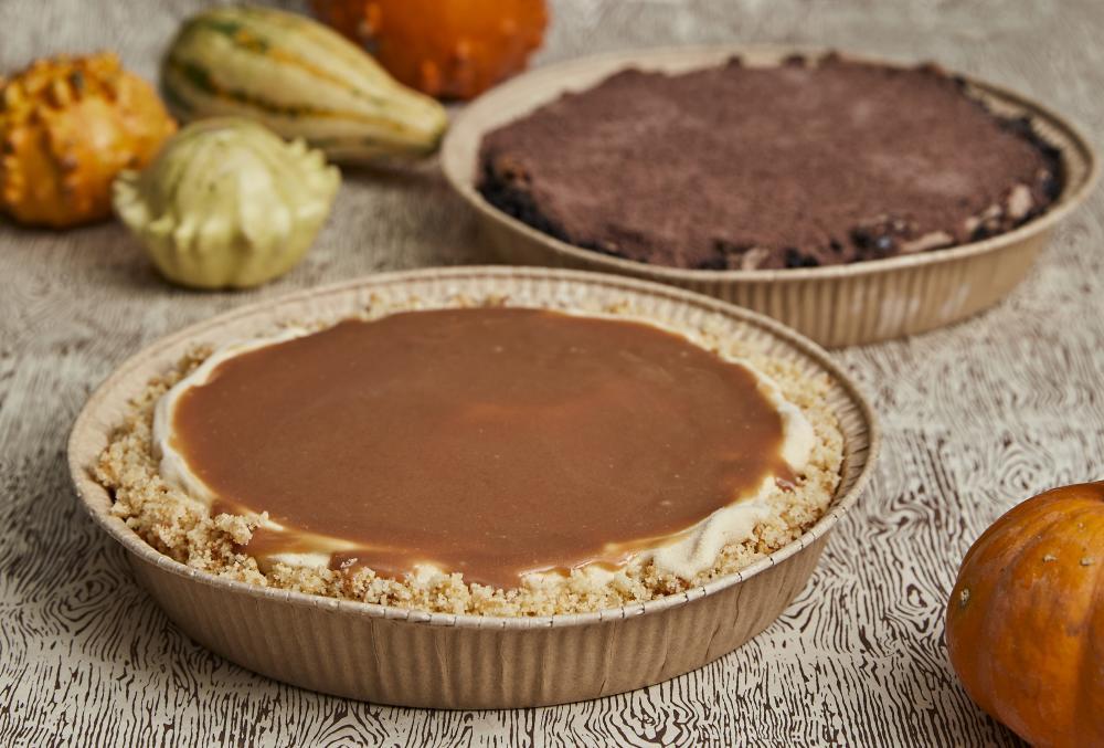 Thanksgiving Pumpkin Ice Cream Pies from Lick Honest Ice Creams in Austin Texas