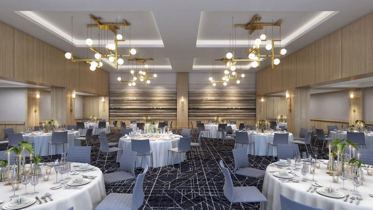 Kimpton Harper Ballroom Rendering